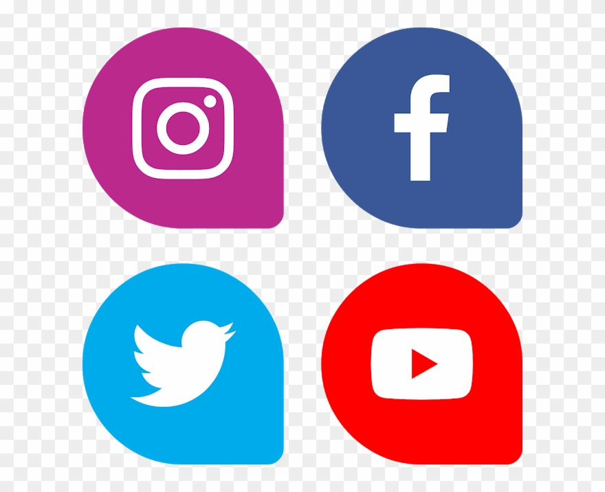 Download Bottons Facebook Instagram Twitter Youtube.
