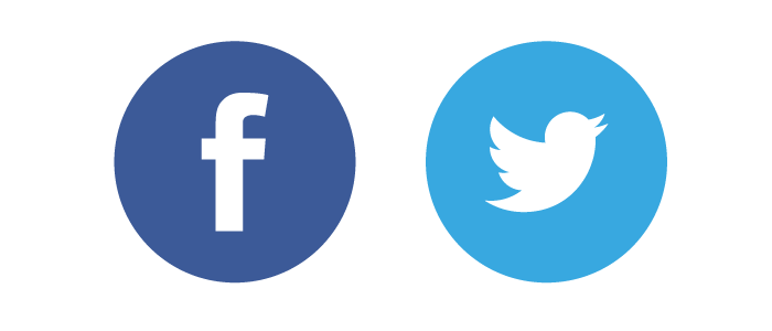 Facebook Twitter Icon Logo Png Images.