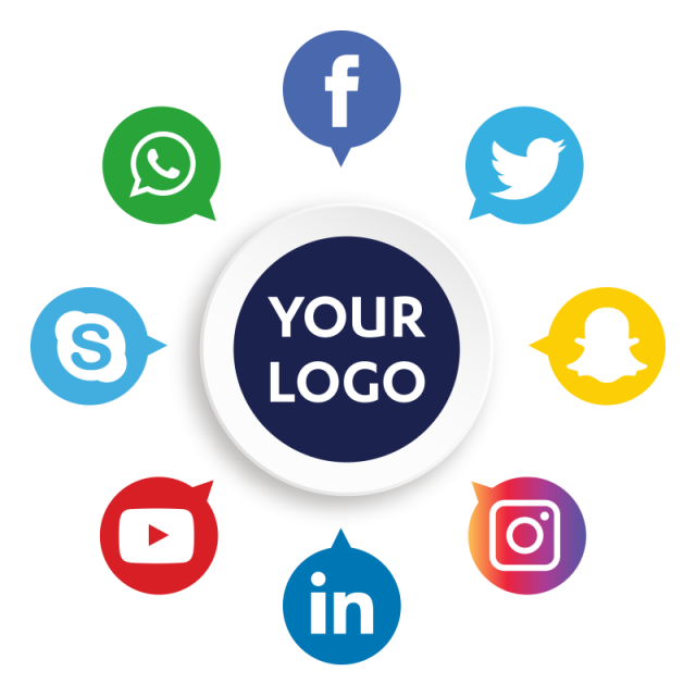 Social Media Icons, Social Media, Social Media PNG and Vector with.