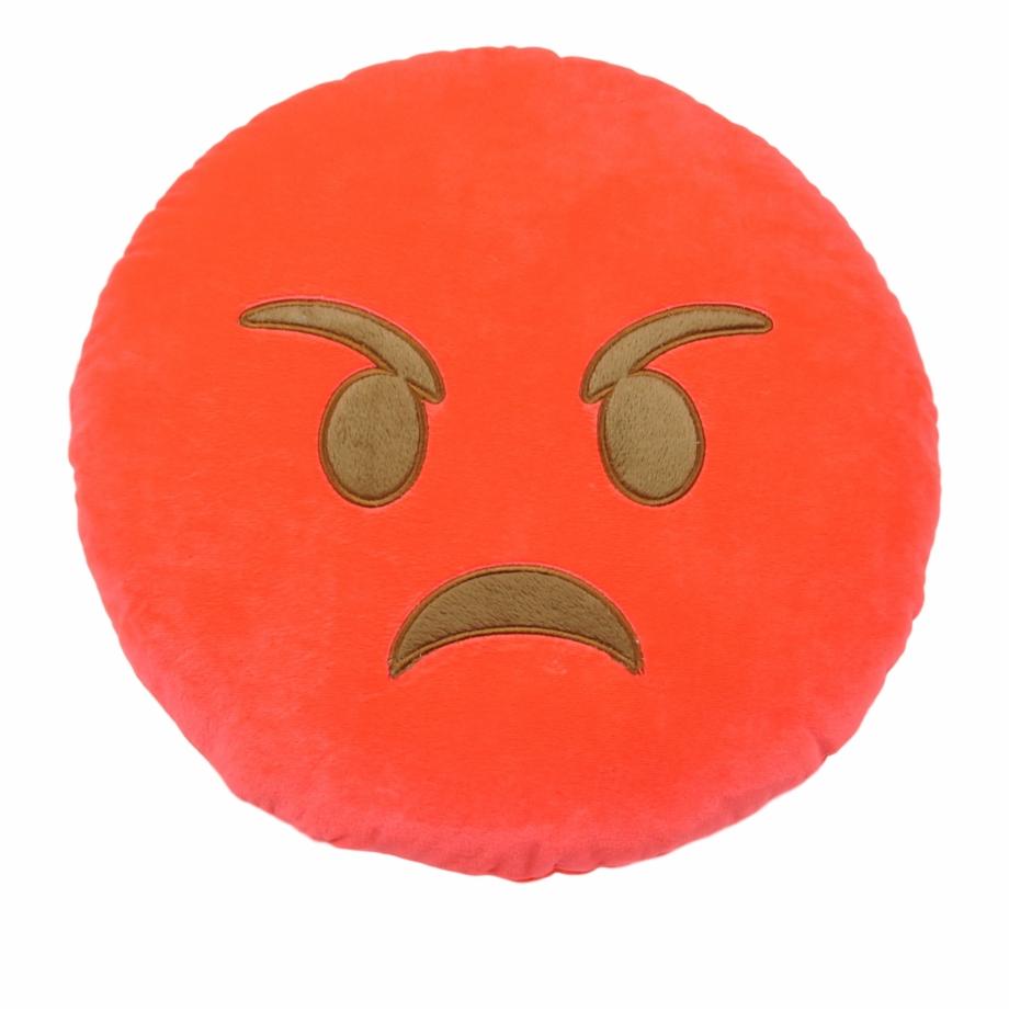 Facebook Angry Face Emoji Pumpkin.