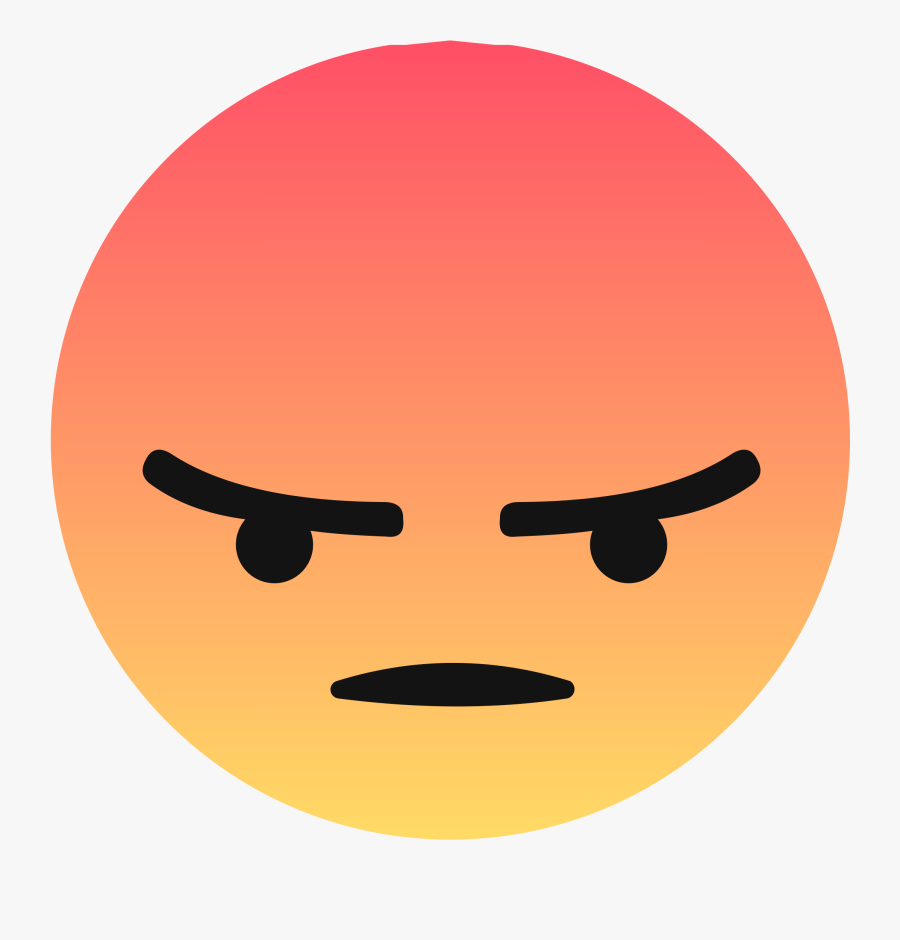 Facebook Transparent Angry Reaction Facebook Angry.