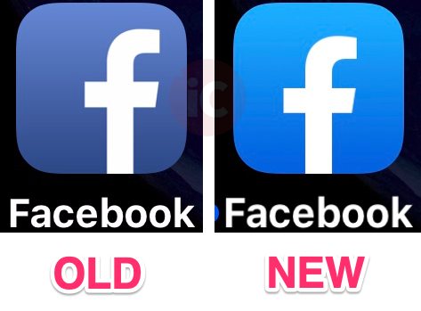 Facebook for iOS Just Unveiled a New App Icon, Ahead of Design.