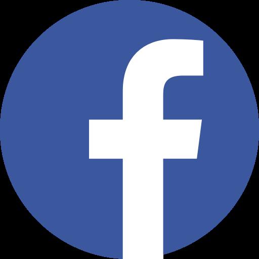 App, facebook, logo, media, popular, social icon.