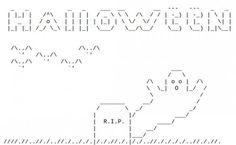 129 Best ASCII ART images.