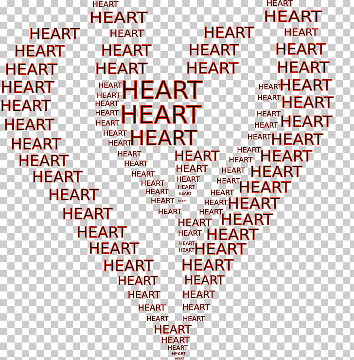 Word Heart ASCII art, Word PNG clipart.