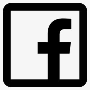 Facebook Black PNG, Transparent Facebook Black PNG Image.