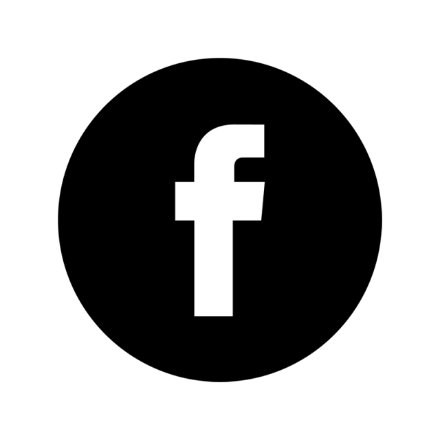 Facebook Logo Black Icon Fb Icon Fb Logo ในปี 2019.