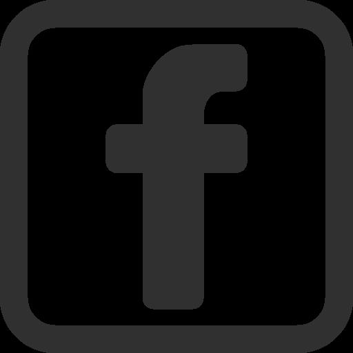 Logo Facebook Black Icon Symbol #46271.