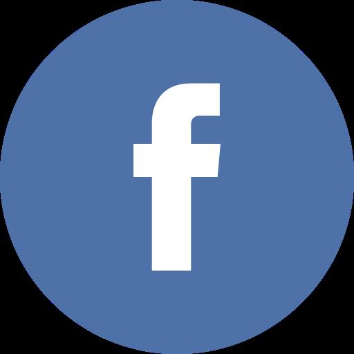 Circle, facebook icon.
