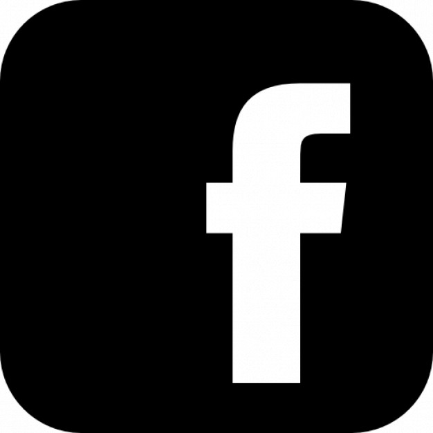 Facebook logo with rounded corners Icons.