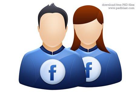 Facebook user icon, twitter avatar graphic, deviantart.