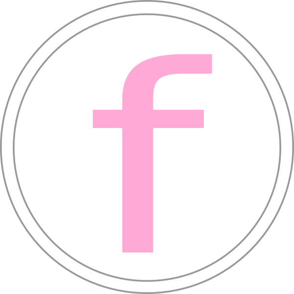 Pink Facebook Icon Clip Art at Clker.com.