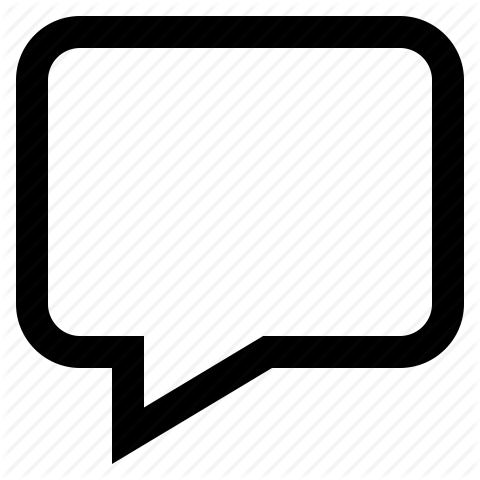 Facebook Comment Icon Png Vector, Clipart, PSD.