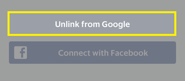 How to link my account to Google or Facebook.