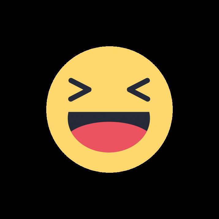 Haha Facebook Emoji PNG Image Free Download searchpng.com.
