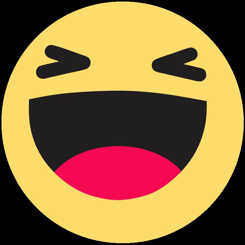 Download Free png Emoticon Like Button Haha Facebook Emoji.