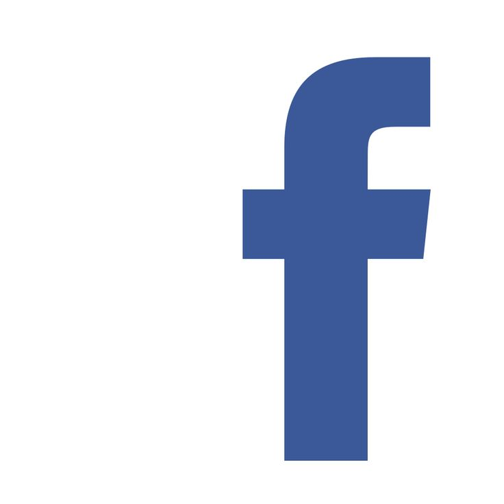 Facebook f logo white background #38362.