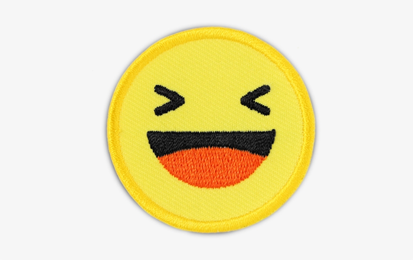 Fb \'haha Emoji\' Patch.