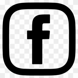Facebook Logo Red Transparent.