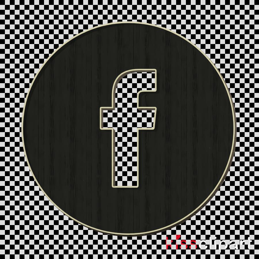 circle icon facebook icon clipart.