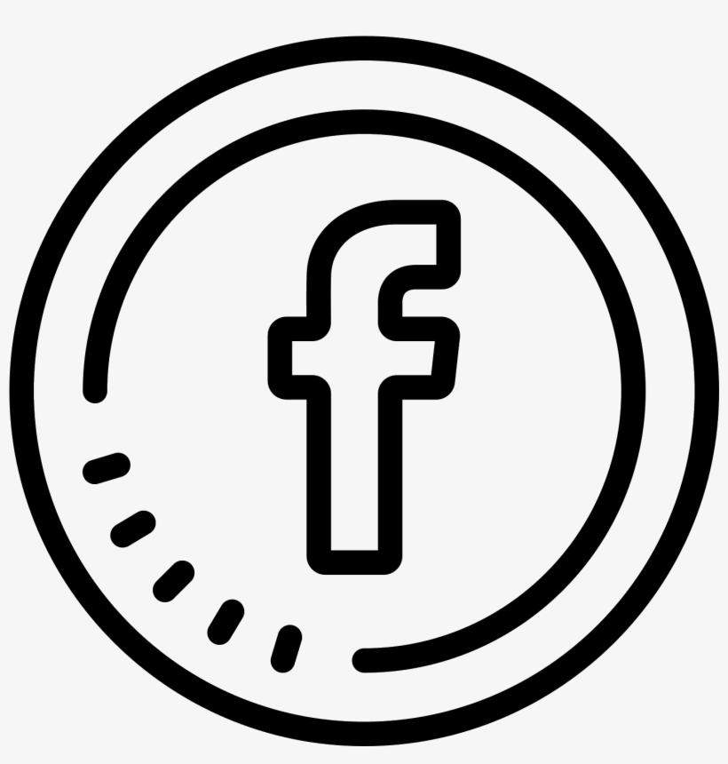 Facebook Circled Icon.