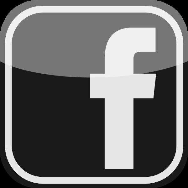 Facebook Black Icon #11194.