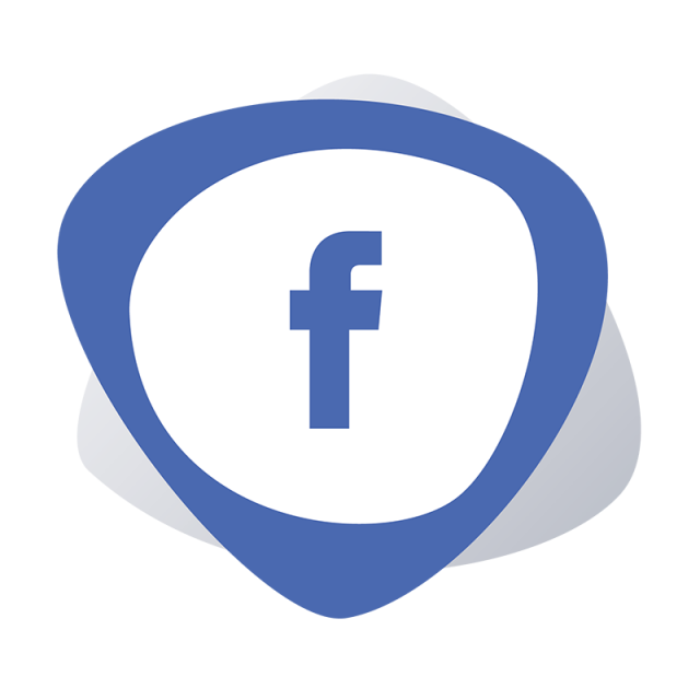 Shape Facebook Logo Facebook Icon, Facebook Logo, Facebook Icon.