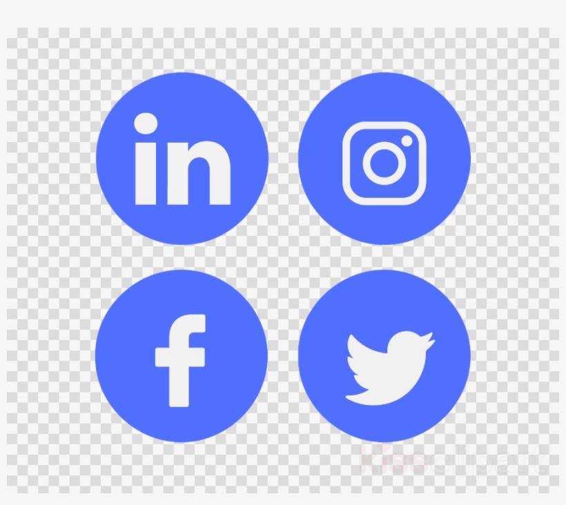 Facebook Linkedin Twitter Instagram Clipart Social.