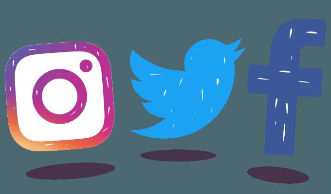 Facebook Twitter Instagram Logo.