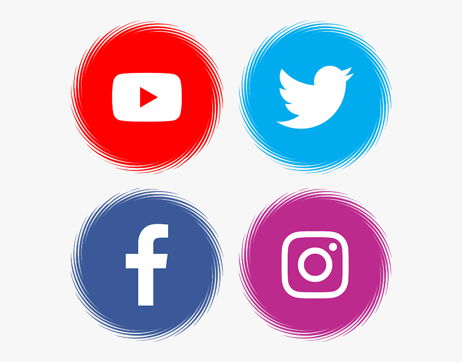 Logo Facebook, Youtube Logo, Button Frames, Apps App.