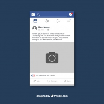 Facebook Post Vectors, Photos and PSD files.