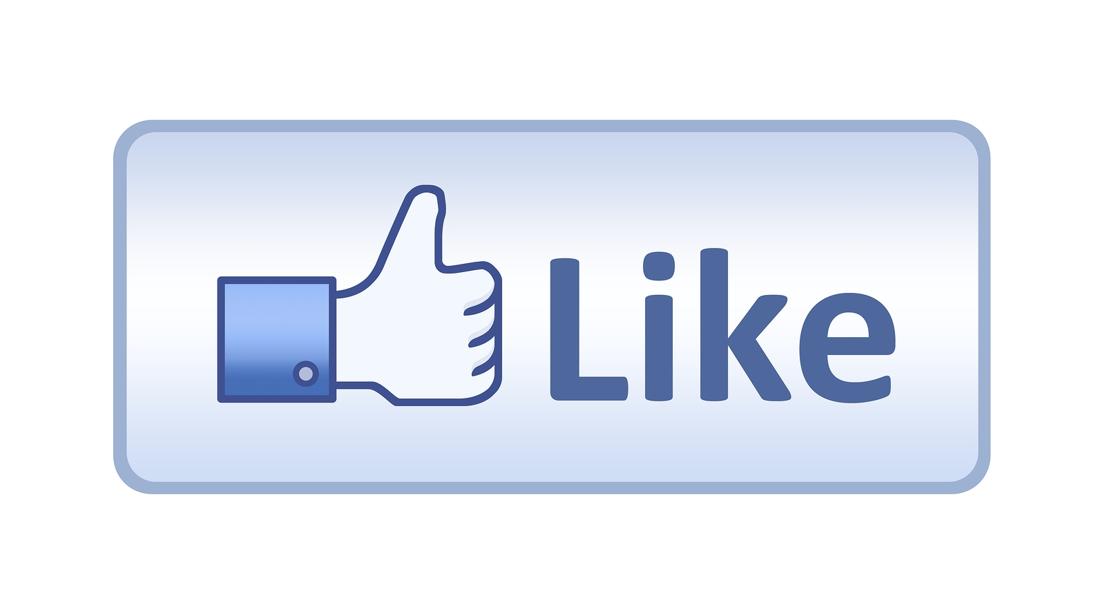 Facebook Like Icon Clipart.