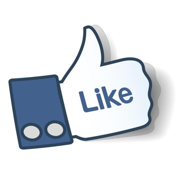 Facebook likes clipart.