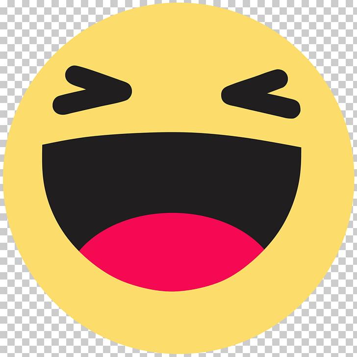 Facebook like button Emoji Emoticon, haha, happy emoji PNG.
