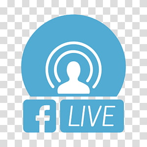 Facebook Live transparent background PNG cliparts free.