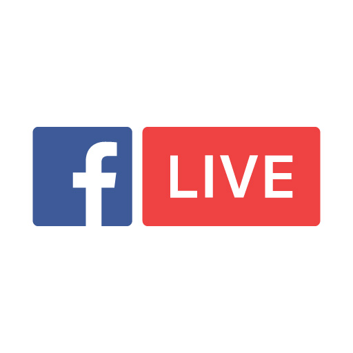 Facebook Live logo vector (.eps + .png) free download.