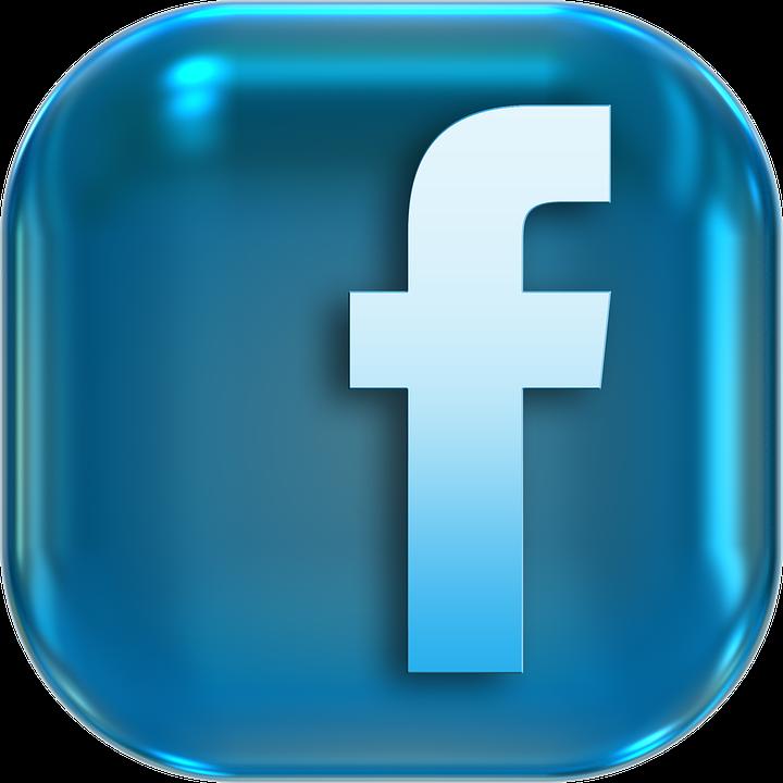 3D Facebook Logo Png Icon.