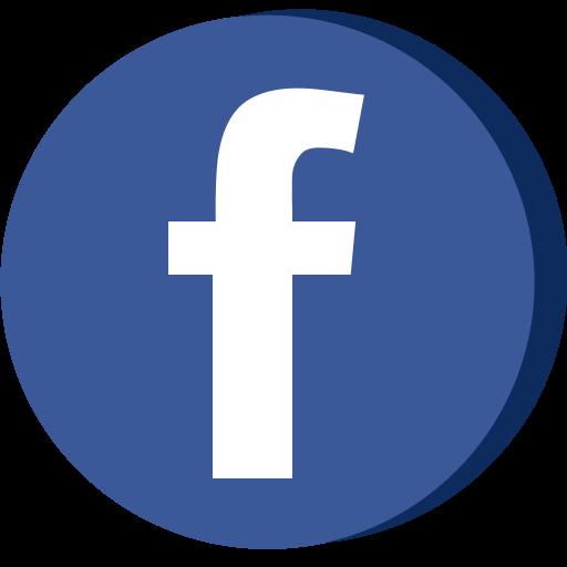Facebook 3D Icon.