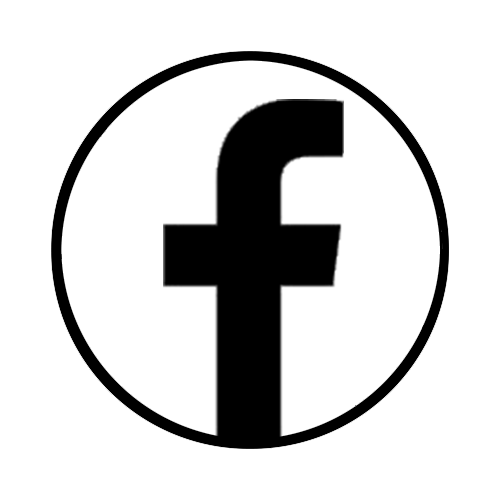 Facebook Black And White Logo.