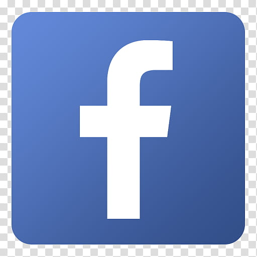 Flat Gradient Social Media Icons, Facebook, Facebook logo.