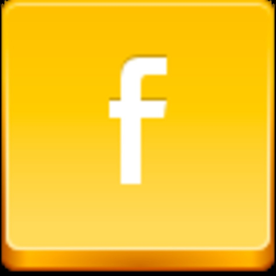 Facebook Small Icon Clip Art free image.
