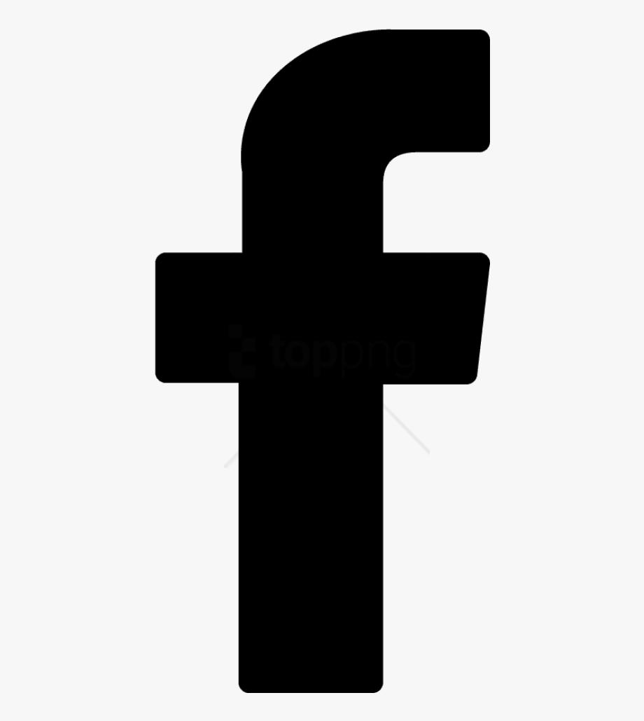 Facebook Logo Png Transparent Background Black.