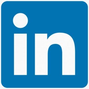 Icon Facebook Linkedin Logo , Transparent Cartoon, Free.