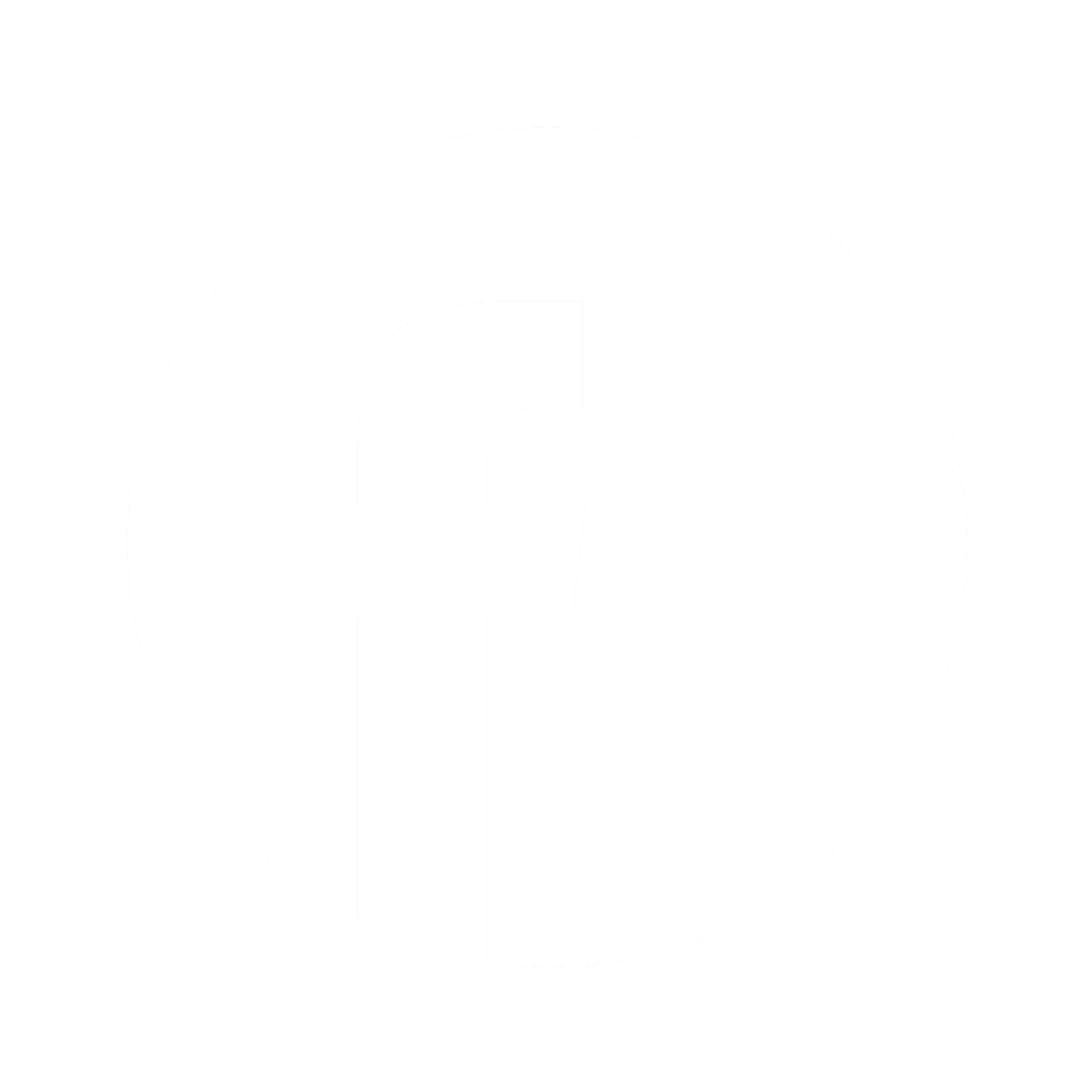 HD Fb White Round Icon Reverse Circle.