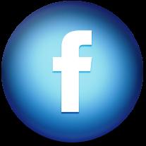 Facebook logo round.