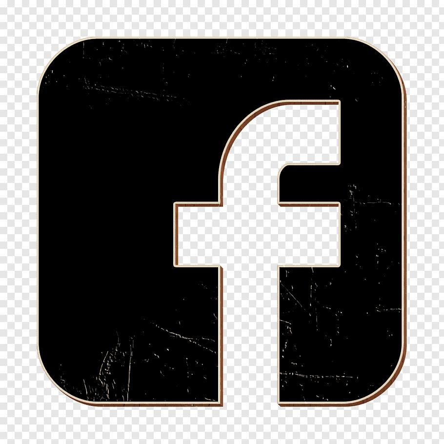 Facebook icon social icon social media icon, Symbol, Line.