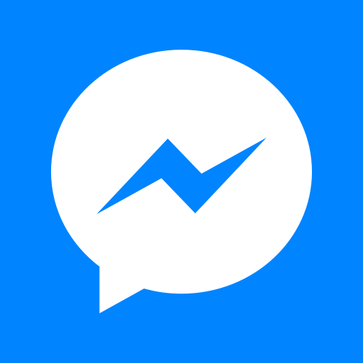 Facebook, logo, media, messenger, share, social, square icon.