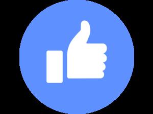 Facebook Love Logo PNG Transparent & SVG Vector.