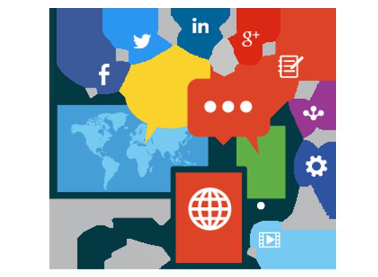 Marketing clipart media technology, Marketing media.