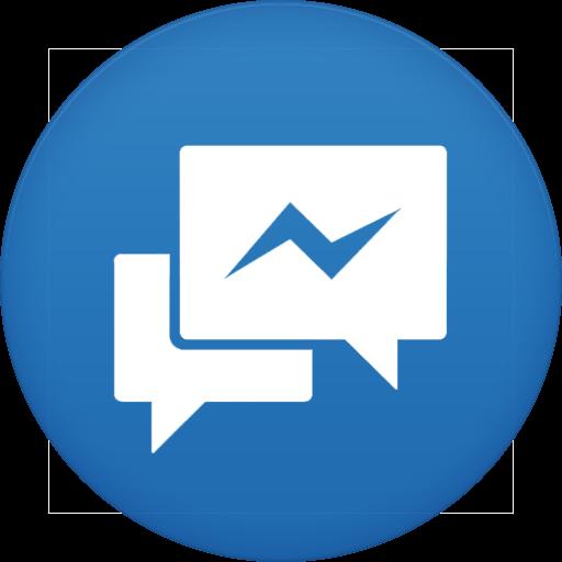 Facebook messenger Icon.